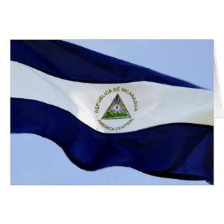 Nicaragua-Flagge Karte