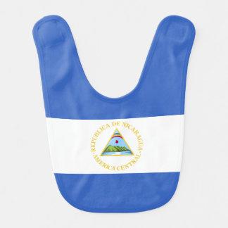 Nicaragua-Flagge Lätzchen