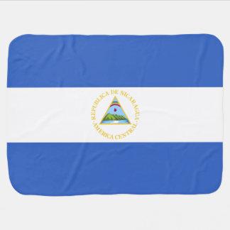 Nicaragua-Flagge Puckdecke