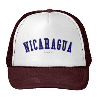 Nicaragua Baseballcaps