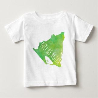 Nicaragua-Karte Baby T-shirt
