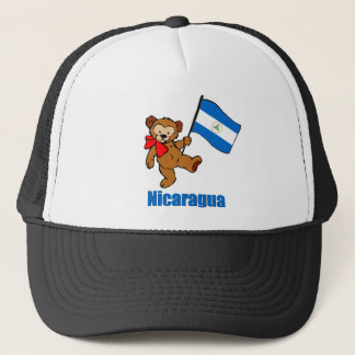 Nicaragua-Teddybär Truckerkappe