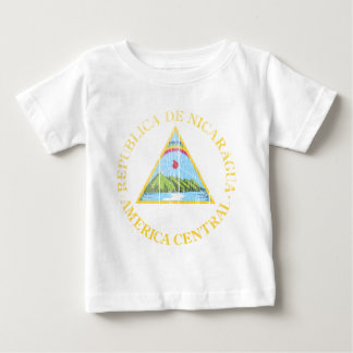 Nicaragua-Wappen Baby T-shirt