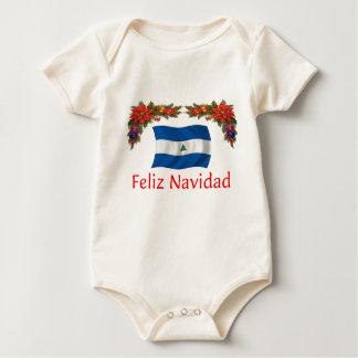 Nicaragua-Weihnachten Baby Strampler