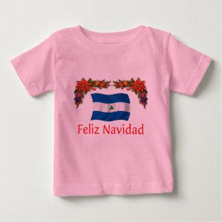 Nicaragua-Weihnachten Baby T-shirt