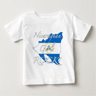 Nicaraguamädchen-Felsen! Baby T-shirt