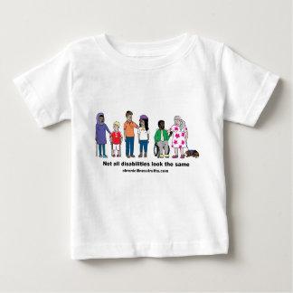 Nicht alle Unfähigkeit schaut das gleichen Shirt