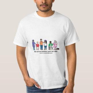 Nicht alle Unfähigkeit schaut den gleichen T - T-Shirt