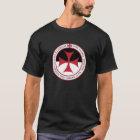 Nicht an uns, O-Lord - Templar Kreuz und Motto T-Shirt