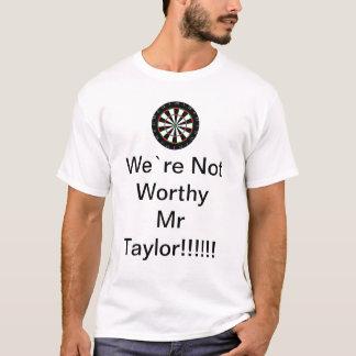 Nicht angemessener Herr Taylor T-Shirt