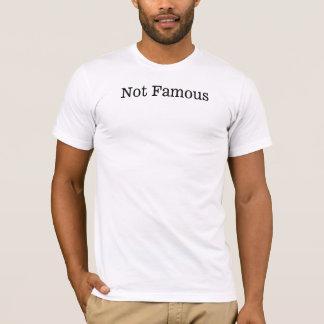 Nicht berühmter T - Shirt