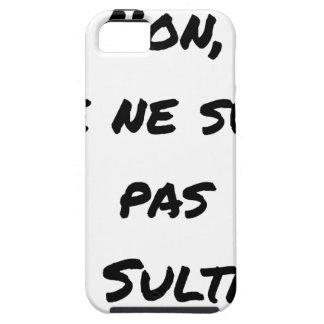 NICHT BIN ICH KEIN SULTANT - WORTSPIELE iPhone 5 ETUI