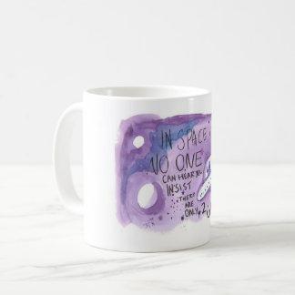 Nicht-binäre Raum-Tasse Kaffeetasse