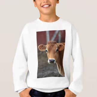 Nicht denken Sie mich sind hübsche Jersey-Kuh Sweatshirt