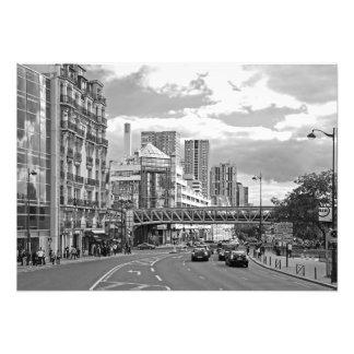 Nicht die klassische Ansicht von Paris Fotodruck