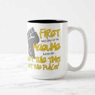 Nicht diese Platz-große Tasse