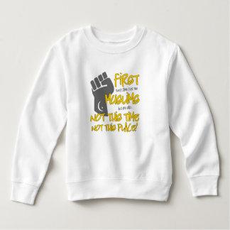 Nicht dieses Platz-Kleinkind-Sweatshirt Sweatshirt