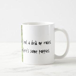 Nicht ein Bett der Rosen Kaffeetasse