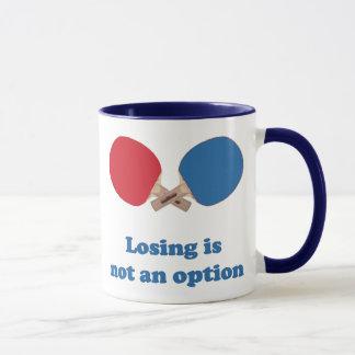 Nicht ein Wahl-Klingeln Pong Tasse