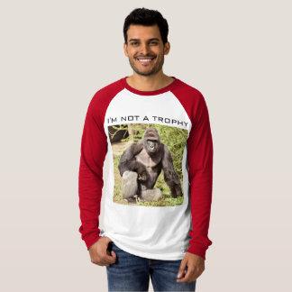 Nicht eine Gorilla-Trophäe T-Shirt