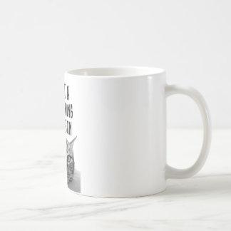 Nicht eine Morgen-Tassenpersonen-Tasse Tasse