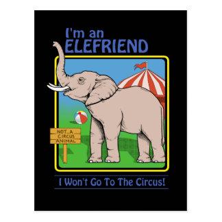 Nicht eine Zirkustierpostkarte Postkarte