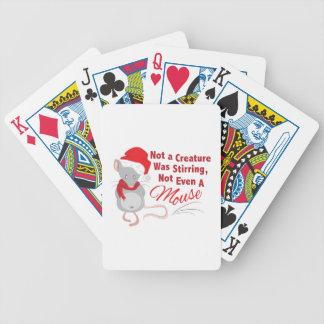Nicht einmal Maus Bicycle Spielkarten