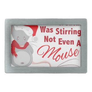 Nicht einmal Maus Rechteckige Gürtelschnallen
