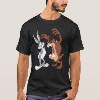 Nicht einmal zurückschreckendes TAZ™ und BUGS T-Shirt