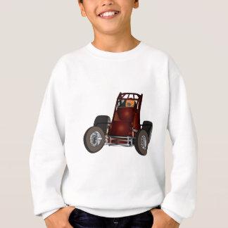 Nicht-Flügel sprinten Auto #1 Sweatshirt