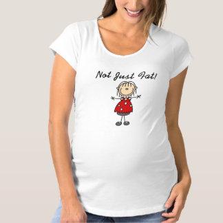 Nicht gerade fett schwangerschafts T-Shirt