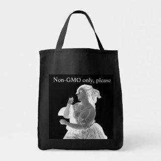 Nicht-GMO Thema-Lebensmittelgeschäft-Tasche Tragetasche