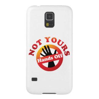 Nicht Ihr übergibt weg Samsung Galaxy S5 Hüllen