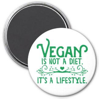 Nicht ist eine Diät vegan Kühlschrankmagnet