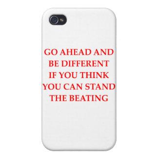 nicht Konformist iPhone 4/4S Case