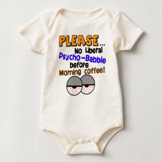 Nicht liberales psychisches Geplapper Baby Strampler