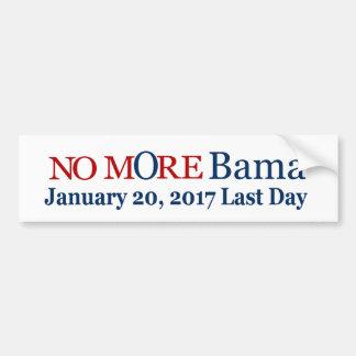Nicht mehr Bama am 17. Januar 2017 letzter Tag Autoaufkleber