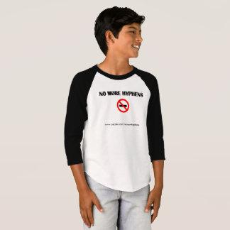Nicht mehr Bindestriche T-Shirt