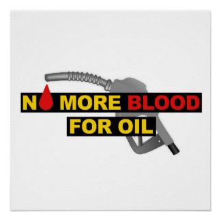 Nicht mehr Blut für Öl Poster