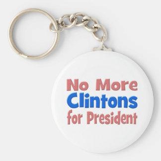 Nicht mehr Clintons für Präsidenten Schlüsselanhänger