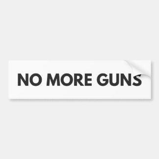 Nicht mehr Gewehre Autoaufkleber