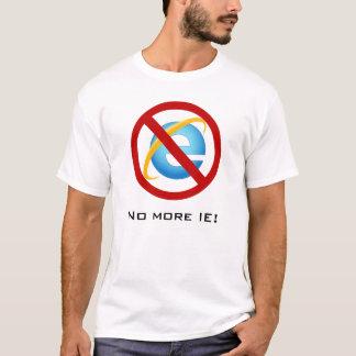 Nicht mehr Internet Explorer (kundengerechter T-Shirt