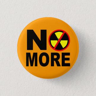 Nicht mehr nuklearer Antislogan Pinback Runder Button 2,5 Cm