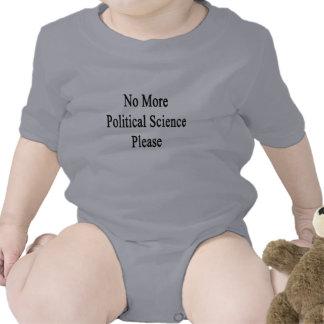 Nicht mehr Politikwissenschaft bitte Hemd