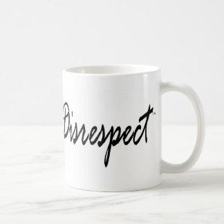 Nicht mehr Respektlosigkeit Graphic2 Kaffeetasse