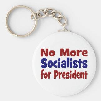 Nicht mehr Sozialisten für Präsidenten Schlüsselanhänger