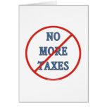 Nicht mehr Steuern Karten