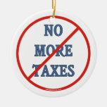 Nicht mehr Steuern Ornament