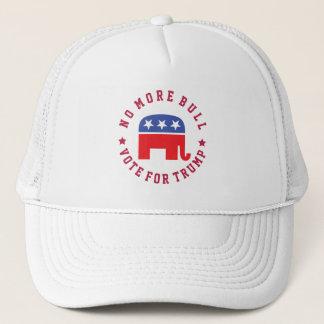 Nicht mehr Stier! Abstimmung für Trumpf Truckerkappe
