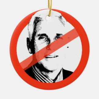 Nicht mein Präsident - Anti-Trumpf Keramik Ornament